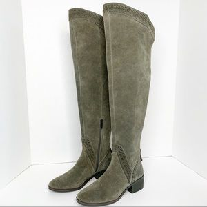 Vince Camuto Karinda Over the Knee Boot Suede 5.5